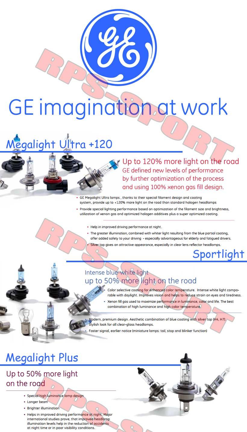 2 ampoule ge h4 megalight ultra 120 d 39 eclairage les plus puissante du marche ebay - Climatiseur le plus silencieux du marche ...